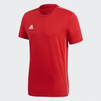 ADIDAS - Pánske tričko CORE 18 (červená) CV3982