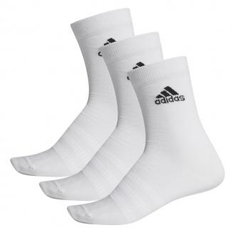 ADIDAS - Ponožky klasické unisex 3 PACK (biela) DZ9393