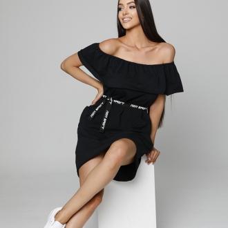 NDN - Dámske šaty CARMEN (čierna)