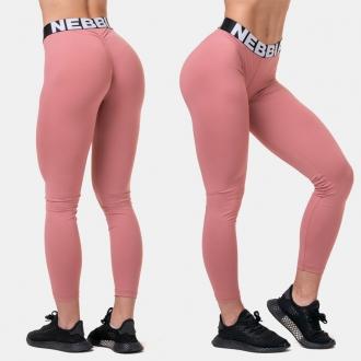 NEBBIA - Legíny Squat HERO Scrunch Butt 571 (old rose)