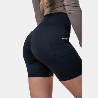 NEBBIA - Fit and Smart dámske cyklistické šortky 575 (black)
