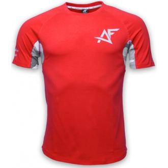 AESTHETIC FITNESS - Tričko CAMO (červená)