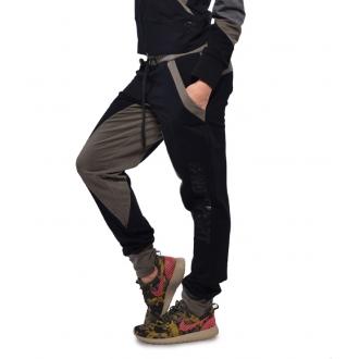 NDN - Dámske pudlové tepláky MARGO (khaki)