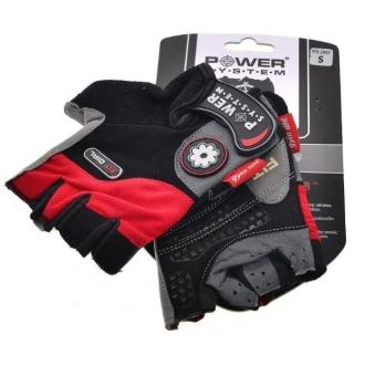 Power System - Dámske fitness rukavice (červená) (PS-2900)