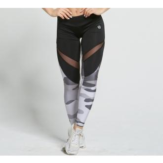 Gym Glamour - Legíny grey moro