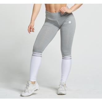 Gym Glamour - Legíny Grey and White Socks