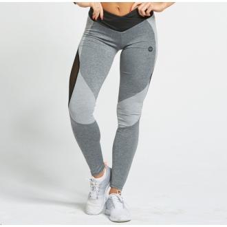 Gym Glamour - Legíny Sexi Mixed Grey