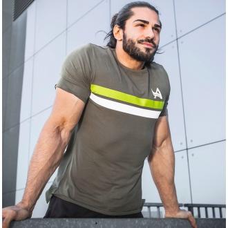 Aesthetix Era - Fitness tričko (zelená) (01.040)