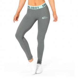 SMILODOX - Fitness legíny dámské 28027 (modrá)