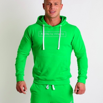 Aesthetic Fitness - Športová mikina 1033 (zelená)