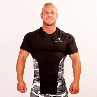 Aesthetic Fitness - Maskáčové tričko AF01