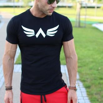 Exalted - Pánske športové tričko X1 (čierna)