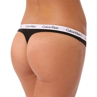 Calvin Klein - Nohavičky tanga (čierna) D1617E-001