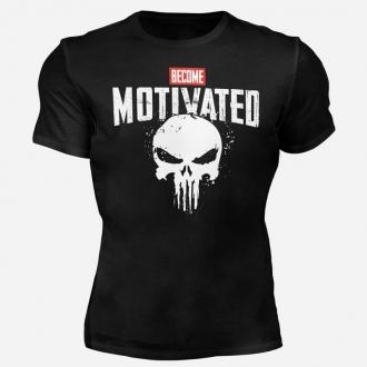 MOTIVATED - Tričko Buď motivovaný 302