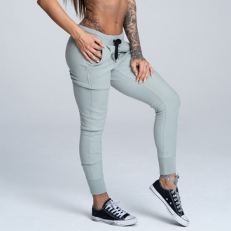 Gym Glamour - Športové tepláky dámske (grey) GG117