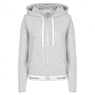 Calvin Klein - Dámska športová mikina (sivá) QS5667E-020