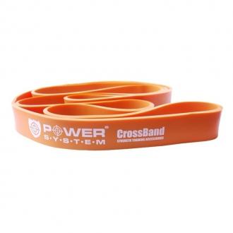 Power System - Guma na cvičenie Level 2 (oranžová)