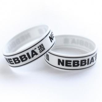 NEBBIA - Pánsky náramok YES YOU CAN (biela)