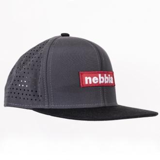 NEBBIA - Šiltovka SNAPBACK 163 (sivá)