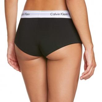Calvin Klein - Dámske boxerky (čierna) F3788E-001