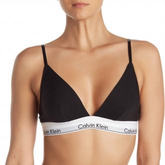 Calvin Klein - Trojuholníková podprsenka (čierna) QF1061E-001