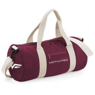 MOTIVATED - Fitness taška dámska (burgundy) 414