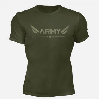 MOTIVATED - Tričko ARMY (zelená) 330