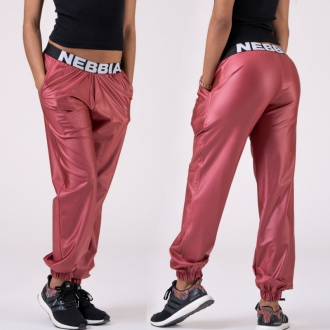 NEBBIA - Nohavice DROP CROTCH 529 (peach)