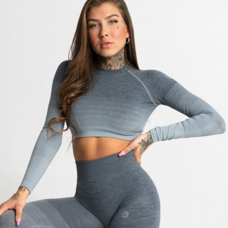 Gym Glamour - Crop Top SEA OMBRE (SS20-GG2360)
