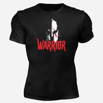 MOTIVATED - Tričko WARRIOR (čierna) 331