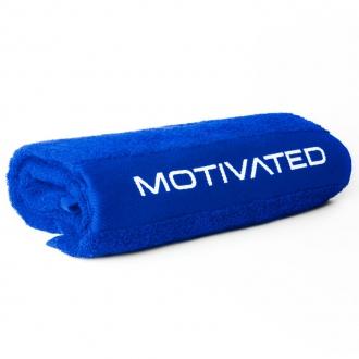 MOTIVATED - Športový uterák 340 (modrý)