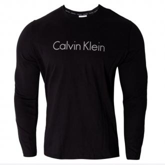 Calvin Klein - Pánske tričko s dlhým rukávom (čierna) NM1345E-001