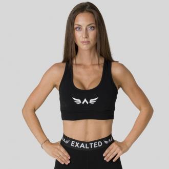 Exalted - Bavlnená športová podprsenka X105 (čierna)