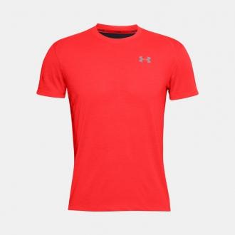 Under Armour - Bežecké tričko pánske (červená) 1326579-629