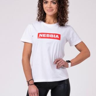 NEBBIA - Tričko dámske BASIC 592 (white)