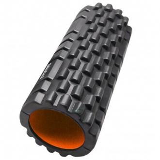Power System - Masážny valec na cvičenie (čierno-oranžová) PS-4050
