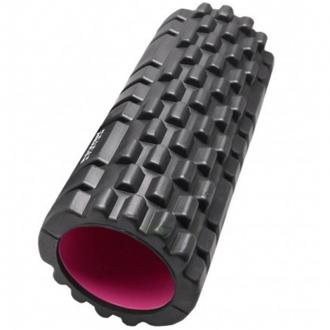Power System - Masážny valec na cvičenie (čierno-ružová) PS-4050