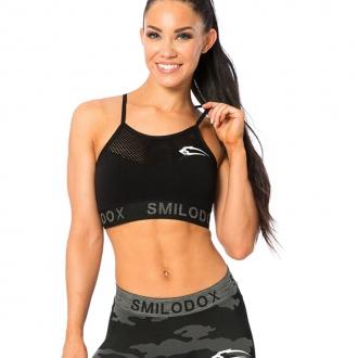 SMILODOX - Dámska športová podprsenka 28035 (čierna)