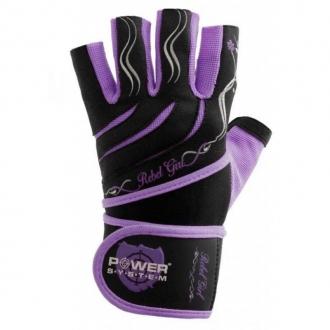 Power System - Dámske rukavice s bandážou (fialová) PS-2720