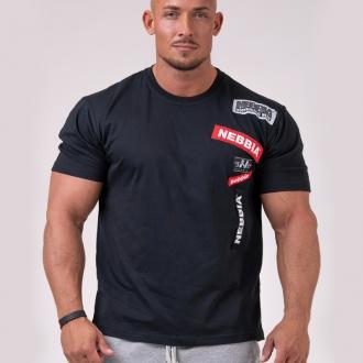 NEBBIA - BOYS tričko pánske 171 (black)