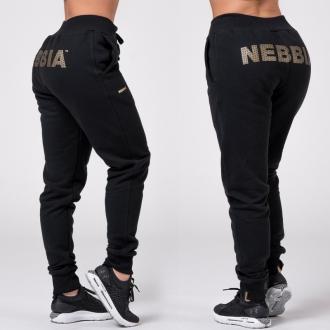 NEBBIA - Tepláky Gold Classic 826 (black)